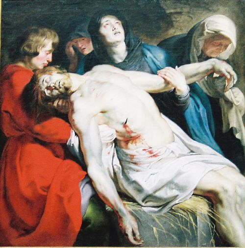 The Entombment - Rubens