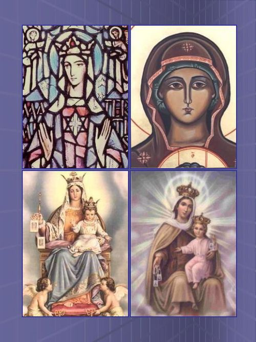 Our Lady of Mount Carmel x 4