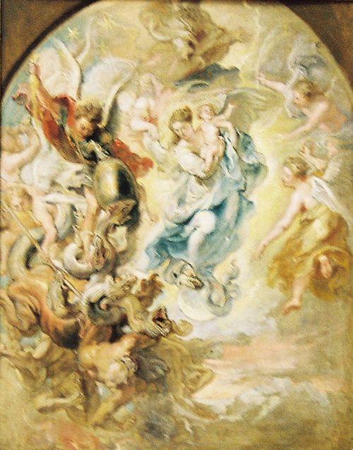 Mary - Rubens
