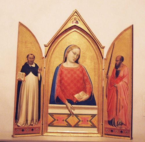 Mary, Thomas A & Paul - Bernardo Daddi