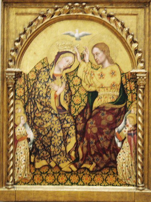 Coronation Virgin Gentile da Fabriano