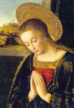 Vierge-priant