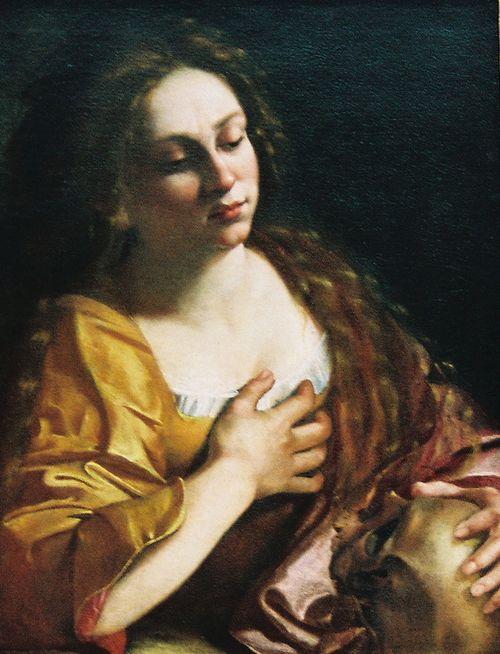 Magdalene - Artimesia Gentileschi