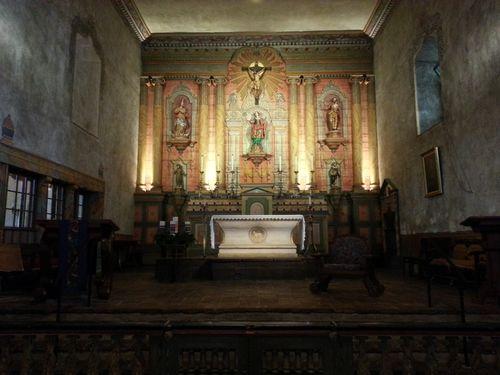 Altar Mission Santa Barbara