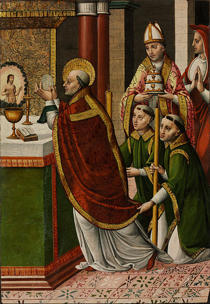 Mass of Pope Gregory the Great