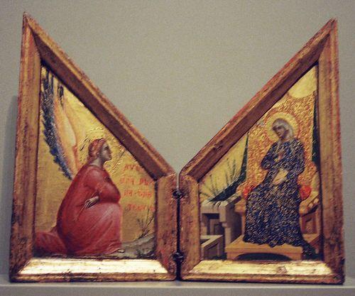 Anunciation Paulo Veneziano
