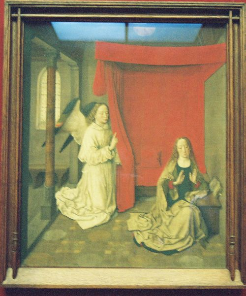 Anunciation Dieric Bouts
