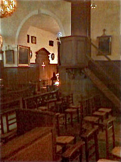 Inside the Old Church
